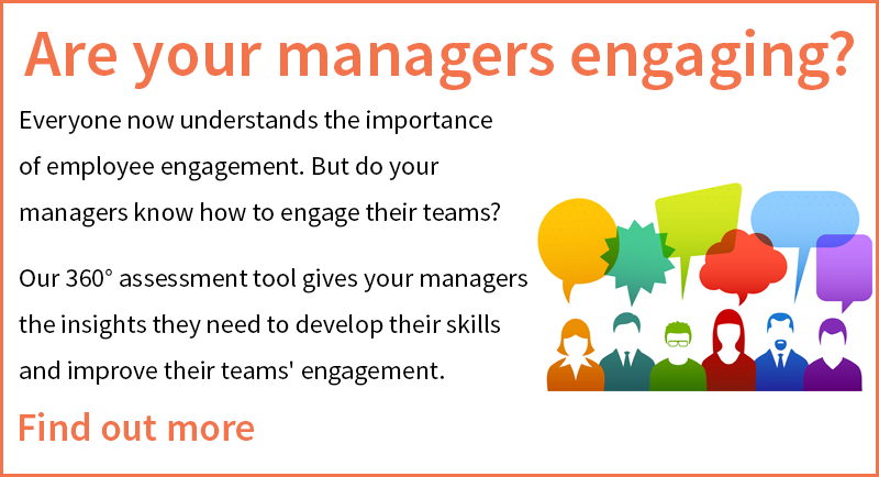Engaging Manager 360 assessment