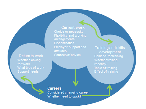 Figure 1: Employment information needs