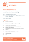 AnnualConference2016Programme