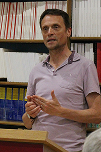 Matthew Taylor speaks at an Institute for Employment Studies event in July 2017