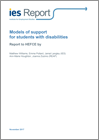 Models of support for students with disabilities