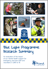 Mind Blue Light evaluation summary report