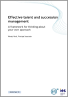 Effective talent and succession management