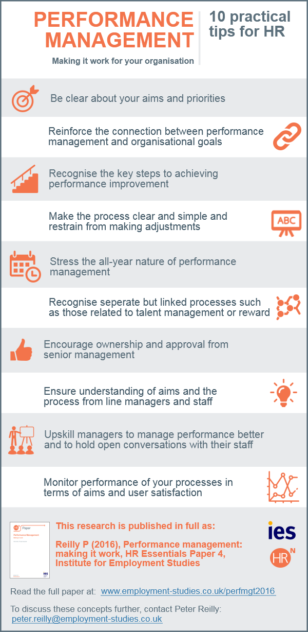 Performance management - 10 practical tips for HR