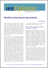 Workforce planning during recession