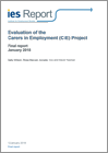 Evaluation of the Carers in Employment project