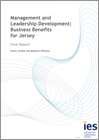 Management and Leadership Development: Business Benefits for Jersey