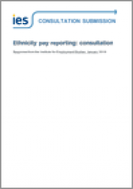 Ethnicity pay reporting: consultation response