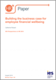 Building the business case for employee financial wellbeing