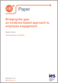 Bridging the gap: an evidence-based approach to employee engagement