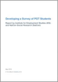 Developing a survey of postgraduate taught students