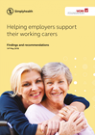Helping employers support their working carers