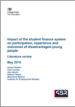 Impact of the student finance system on participation, experience and outcomes of disadvantaged young people
