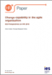 Change capability in the agile organisation