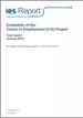 Evaluation of the Carers in Employment (CiE) Project: final report